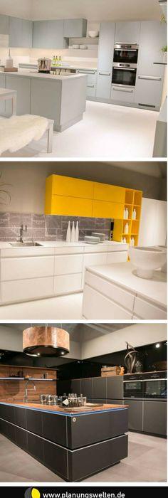 Küchen gibt es 2017 in den tollsten farben wie z b mint senfgelb und grau