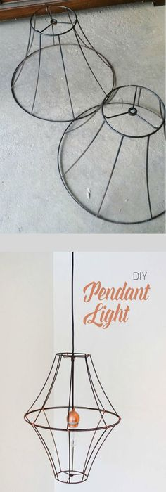These diagrams are everything you need to decorate your home upcycled home garden has many of these frames in oceanside ca beautiful and inexpensive diy pendant light you could add crystals to give it a greentooth Images