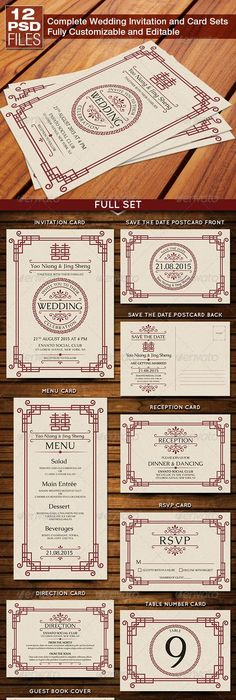 vintage chinese calendar wedding invitation card template vector - fresh invitation unveiling of tombstone