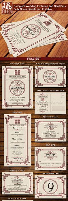 Chinese wedding invitation card   Oriental style 華麗東方紅請帖 WM - invitation unveiling