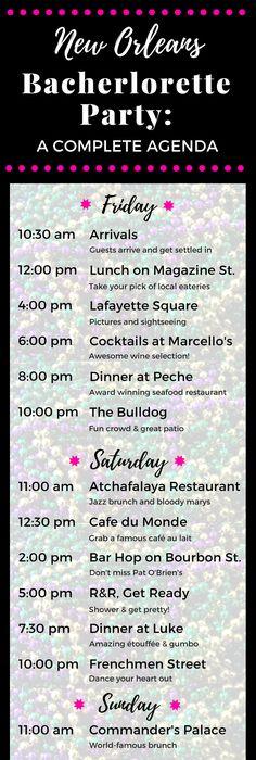 New Orleans Bachelorette Party Ideas  Bachelorette Parties