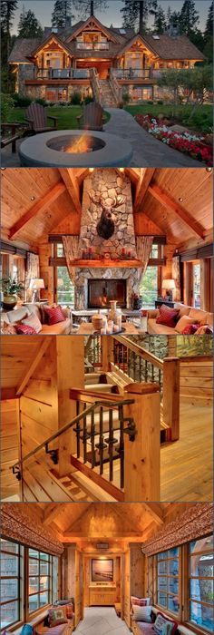 Dream home log home love log cabins old tahoe house by ooa design style estate