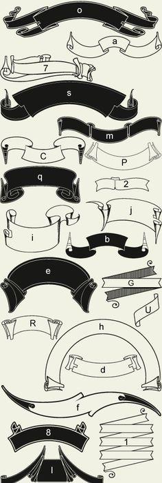 tatouage lettre alphabet gothique  u2026