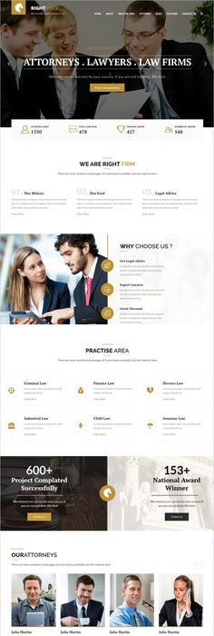 Lawyers Legal Help Site Wordpress Template Themes Business - Lawyer website template