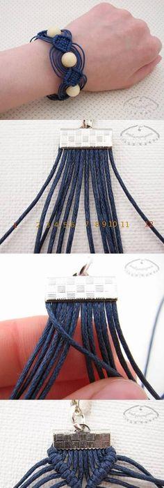 comment faire un bracelet br silien rond ou avec pr nom. Black Bedroom Furniture Sets. Home Design Ideas