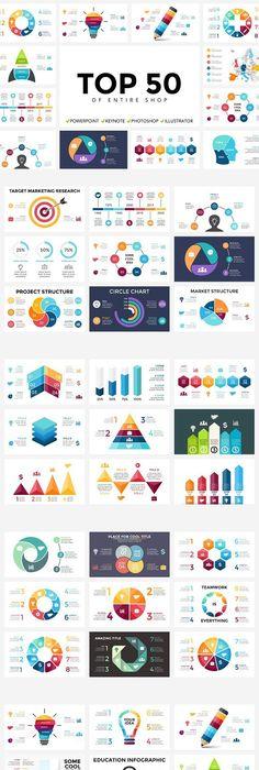 Modern Infographic Choice Templates (3 Items)   Ai illustrator ...
