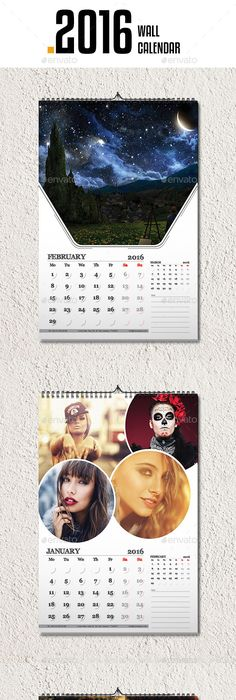 Corporate Wall Calendar  V  Template Calendar Design And