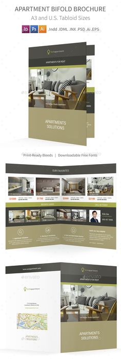 Apartment  Condominium Brochure Template By Stocklayouts
