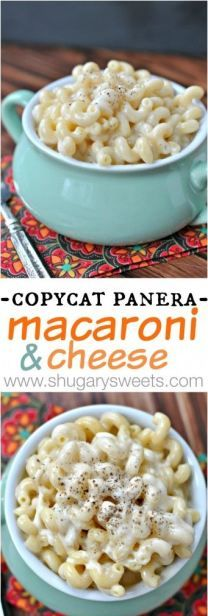 Copycat Panera Mac and Cheese: easy stove top recipe, so creamy and thick  just