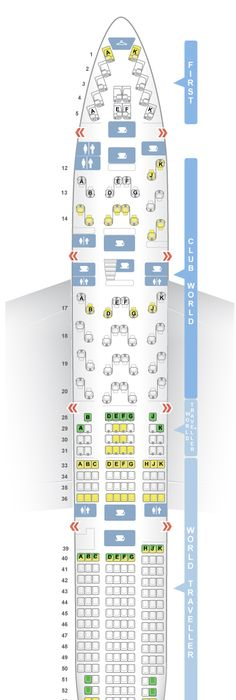 More Seating In Small Living Room: SeatGuru Seat Map Iberia Airbus A330-300 (333)
