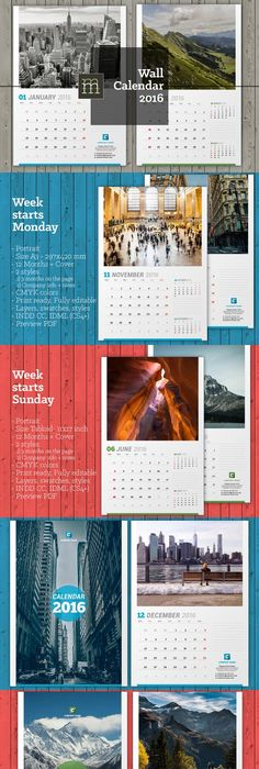 Wall Calendar   Calendar  Template And Walls