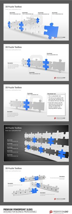 Professional PowerPoint Agenda Template: Agenda with 5 items and ...