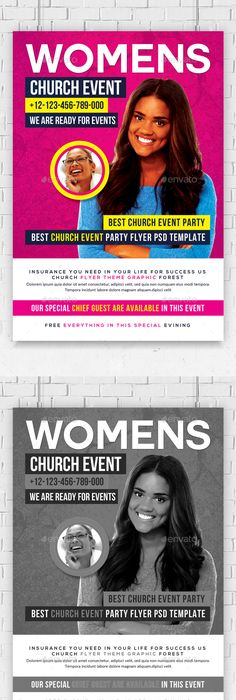 Soul WomenS Conference Flyer Template  Photoshop Psd