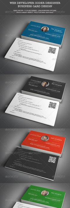 Web developer business card business cards business and contact web designer developer business card design colourmoves