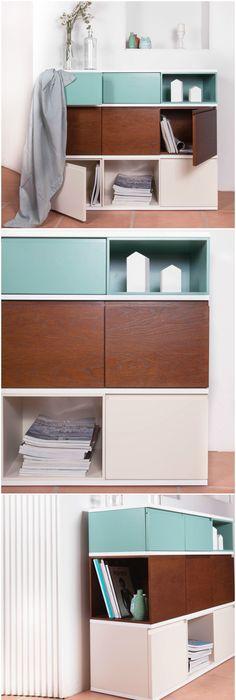 daniela-mueble-minimalista-blanco-aparador-furniture-sideboard - mueble minimalista