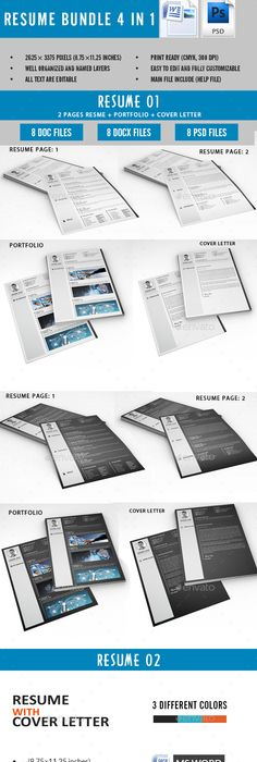 The One Page Resume Dream Job! Pinterest