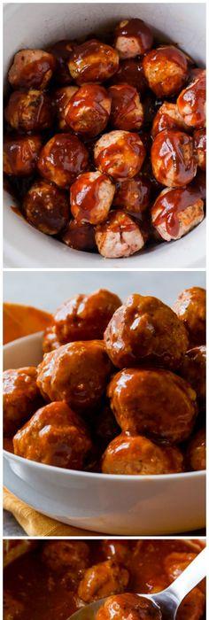 recipe: crockpot bbq turkey meatballs [17]