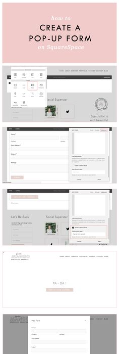 Squarespace 7 Template Comparison Chart Compare all features of all ...