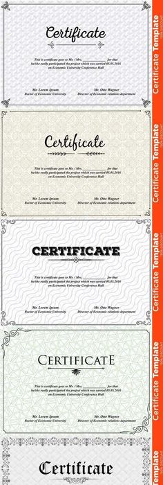 Modern ms word certificate template stationery templates certificate template psd 677908 yadclub Choice Image