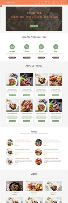 All mode pagination flexible and responsive raxo module recipes food food recipes html template forumfinder Images