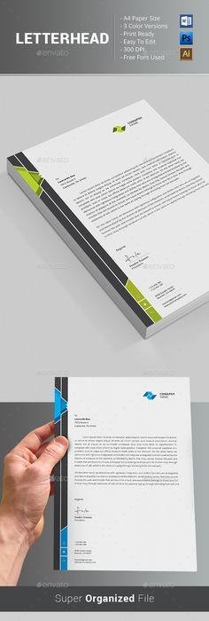 Letterhead letterhead template print templates and template spiritdancerdesigns Choice Image
