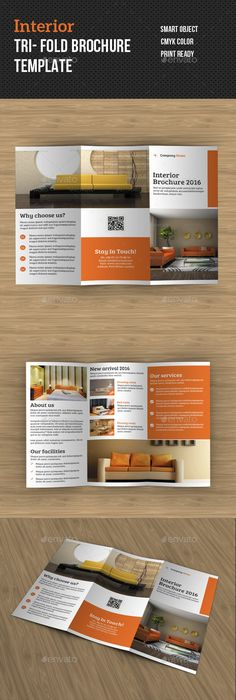 Fashion TriFold Brochure Template PSD Brochure Templates - Tri fold brochure template psd