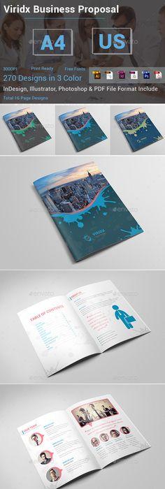 5 Business Proposal Templates Bundle Design Download Http