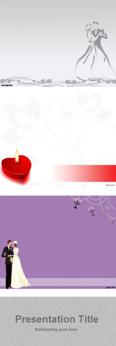 Splash Of Love Powerpoint Template  Love Powerpoint Templates