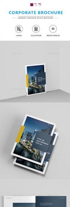Company Profile Template | Company profile, Brochure template and ...