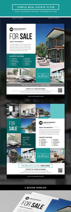 Real Estate Flyer Template Real Estate Real Estate Flyers And - Commercial real estate brochure template