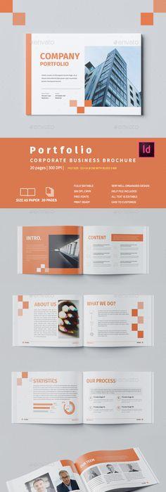 Company Portfolio Template Enchanting Company Profile  Company Profile Brochure Template And Brochures