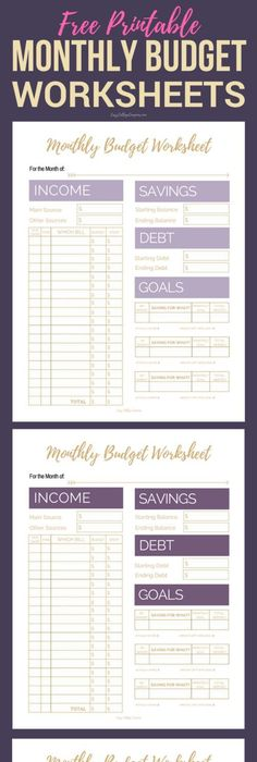 How to Teach Kids to Budget Their Money [Free Printables ...