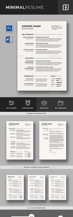Cv Template  Rsum Template For Word  Cover Letter  Advice