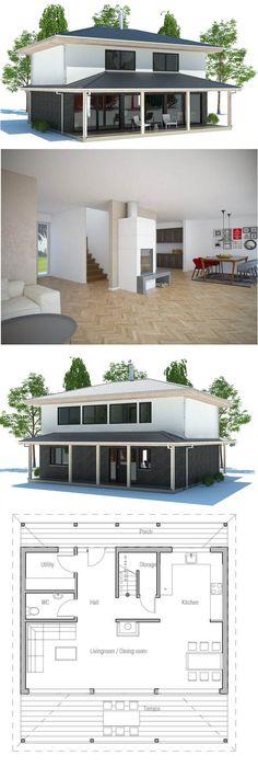 plan de maison maelle Pinterest Container house plans, House - plan de maison design