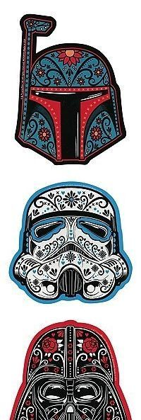 Star Wars Sugar Skull By Larsonkilstrom | Sugar Skulls | Pinterest | Sugar  Skulls And Tattoo