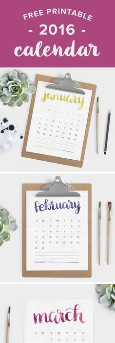 2018 Calendar 2018 free printable calender Pinterest Printable - printable calendars