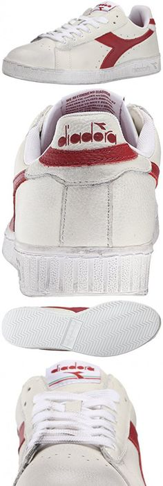 GAME WAXED - Sneaker low - white/red pepper mdwgLzZSX