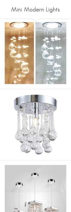 Mini modern lights by homelava ❤ liked on polyvore featuring home lighting · modern ceiling