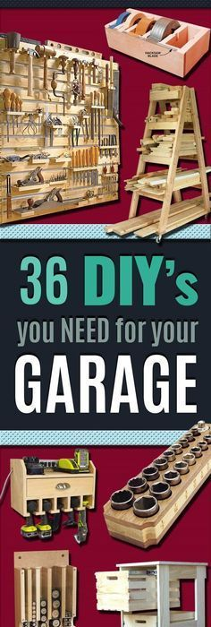 12 ways to organize your tools organizing shop and organisations 36 diy ideas you need for your garage solutioingenieria Gallery