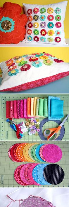 25 more things to do with fat quarters fabrics fat quarters and fat diy fabric decorative flowers flowers diy crafts home made easy crafts craft idea crafts ideas diy ideas diy crafts diy idea do it yourself diy projects diy solutioingenieria Gallery