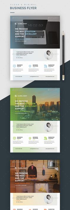 Brosur Flyer Template Gratis Download  Free Psd Corporate Flyer