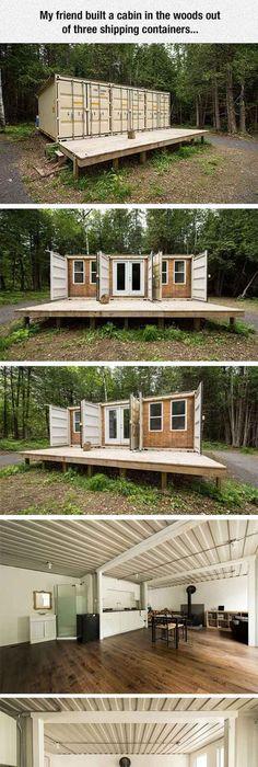 Wohnideen Container freedom by minimalist homes container häuser container und