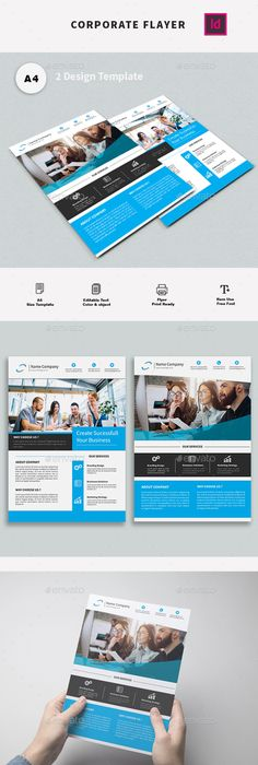 Indesign Multipurpose Business Flyer  Free Indesign Templates
