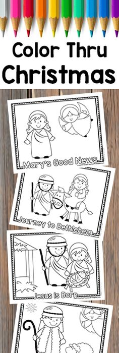 Free Christmas Bible Crafts, Christmas Activities, Christian - new coloring pages for christmas story
