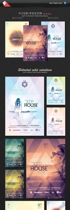 Edm Dj Electronic Dance Music Flyer   Music Flyer Party Poster