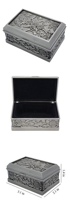 Cyber Monday Decorative Wooden Long Jewelry Box Keepsake Storage