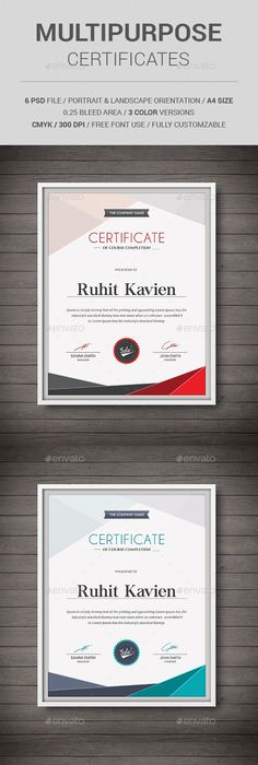 Geometric certificate certificate photoshop and template yadclub Choice Image