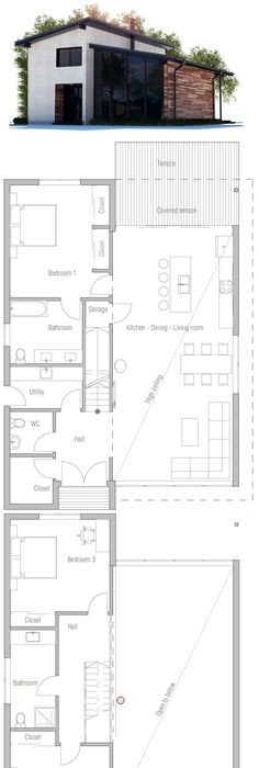 Plan achat maison neuve à construire - Logis du Marais Poitevin