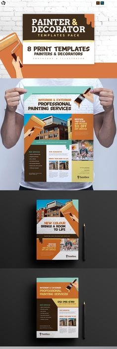 Ice Cream Shop Templates Pack Template Print Templates And Flyer