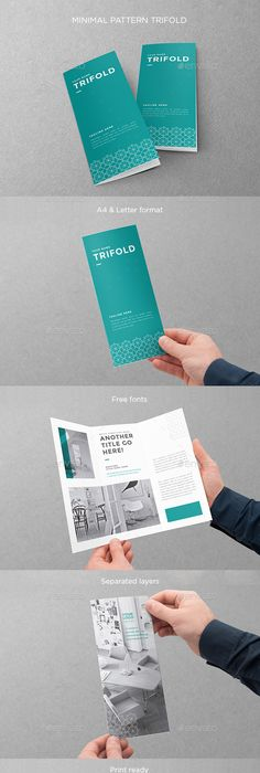Creative Examples Of TriFold Brochure Designs  Tri Fold